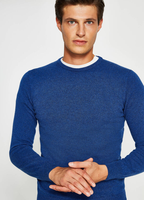 100% cashmere pullover with round neck | OVS