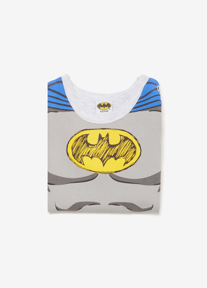 Maxi Batman print cotton bodysuit