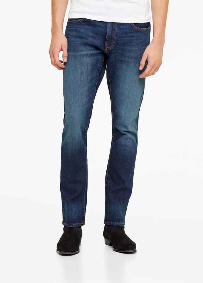Selvedge collection slim-fit jeans