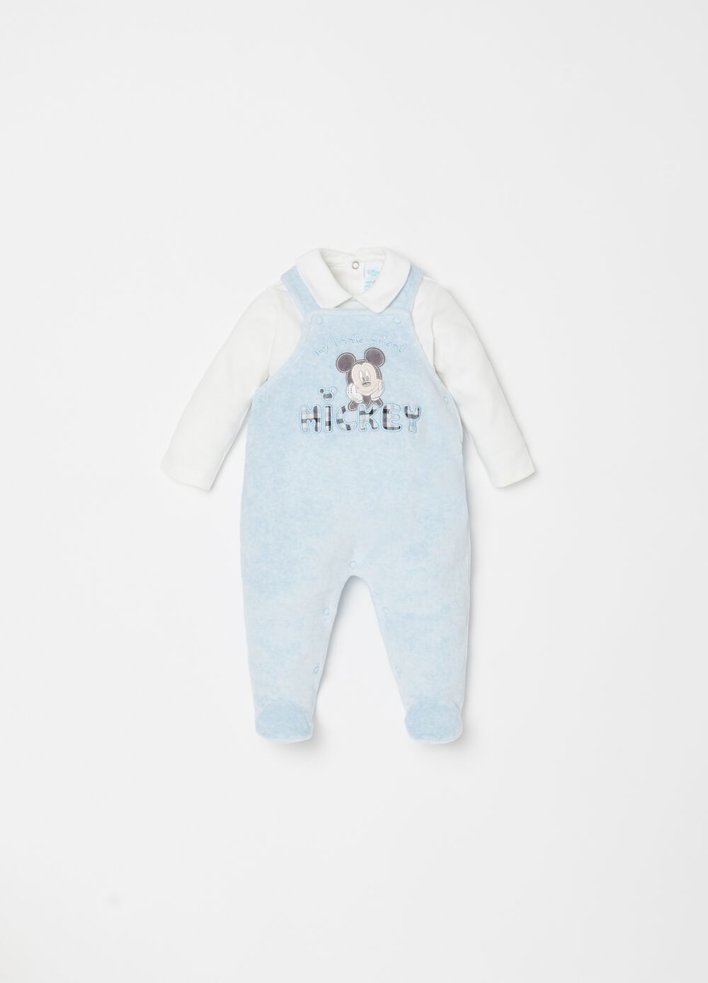 Disney Mickey Mouse T-shirt and dungarees set