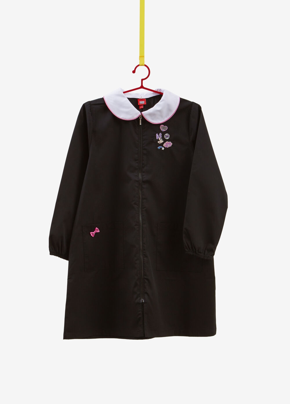 Cotton blend smock with Minnie Mouse patch