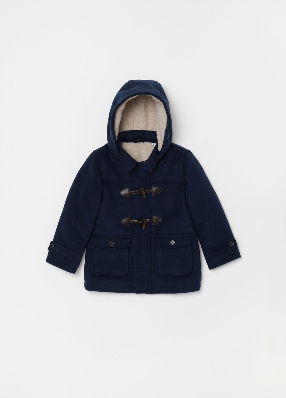 Jacket with hood and toggles