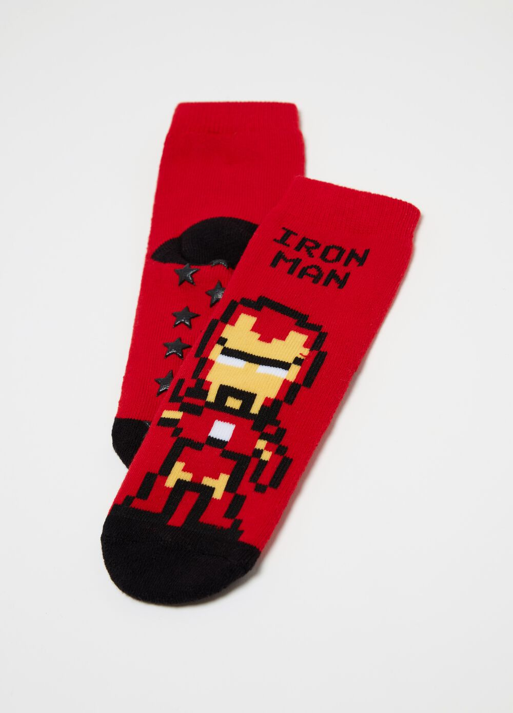 Iron Man slipper socks
