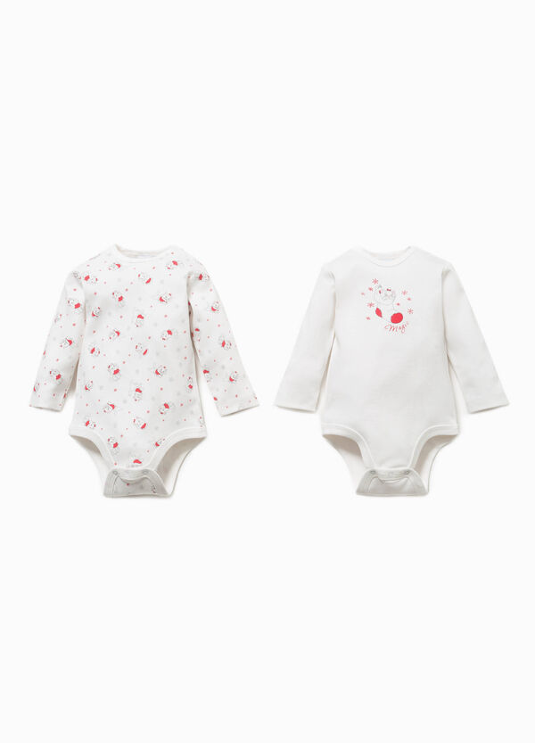 Two-pack Aristocats pattern bodysuits