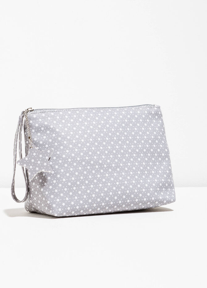 Patterned pouch with star insert