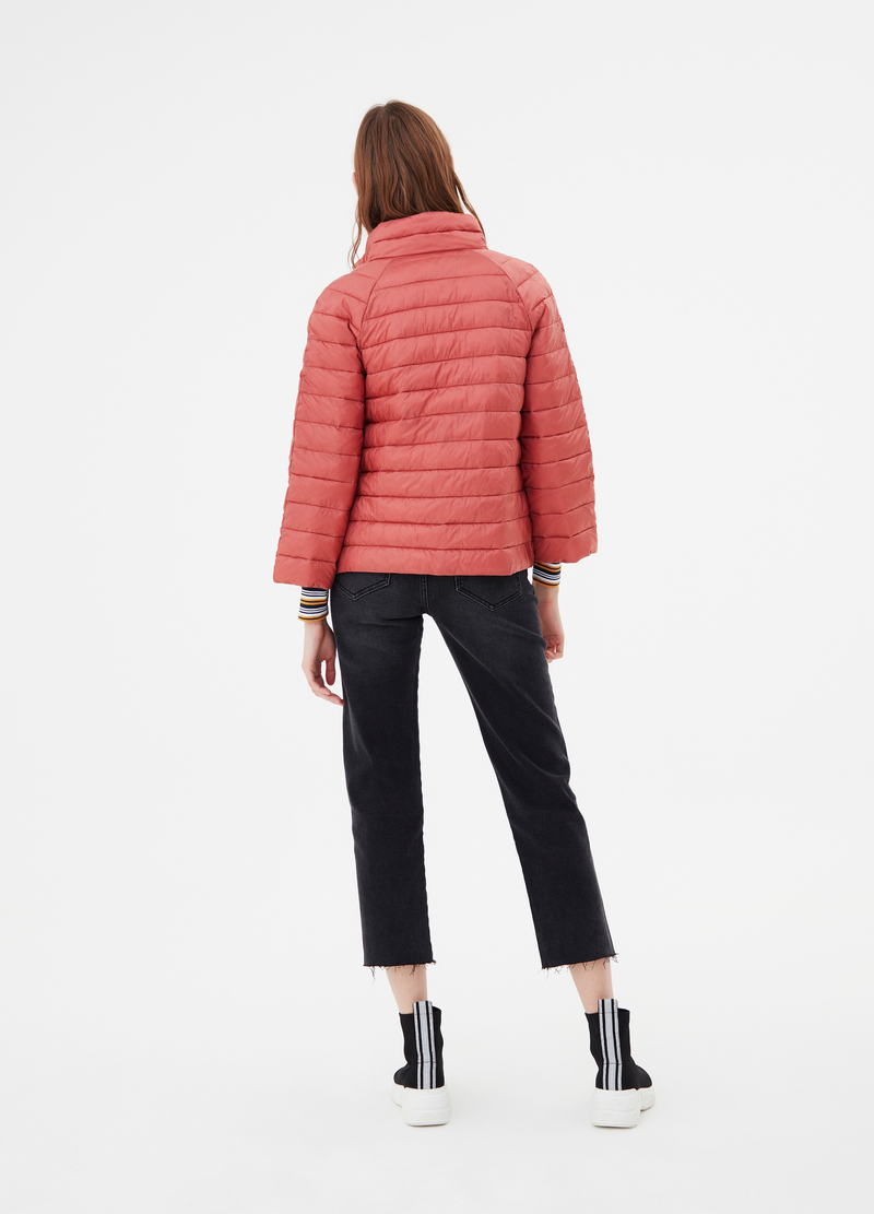 Padded jacket with high neck image number null