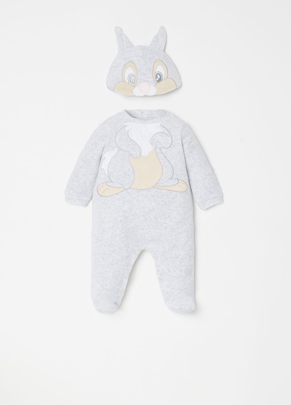 Disney onesie with feet and hat set