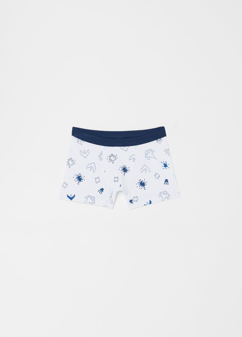 Three-pack stretch biocotton boxer shorts