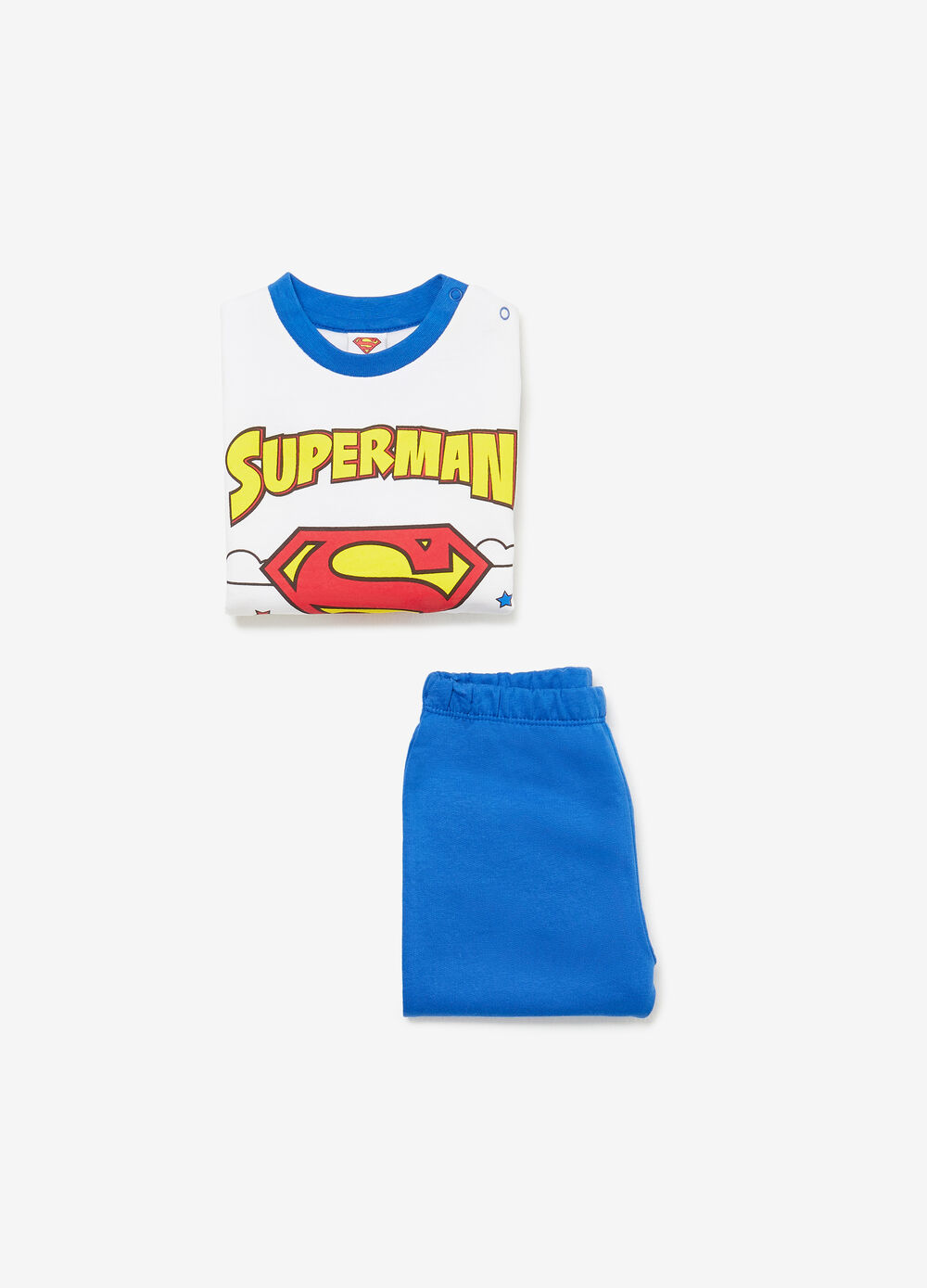 100% BCI cotton pyjamas with Superman print