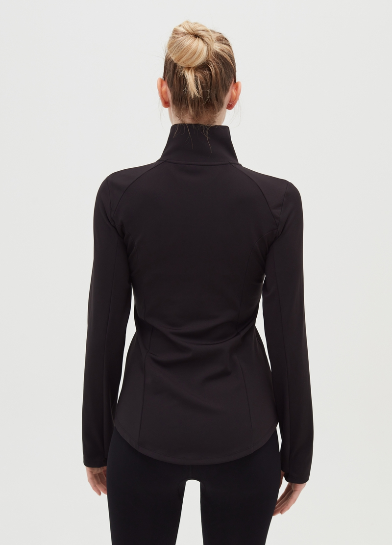 Microfibre sports jacket image number null