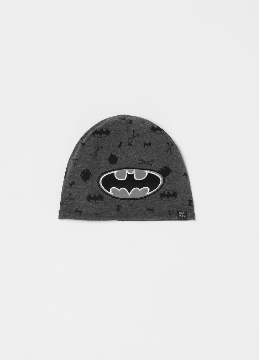 Batman hat in French terry