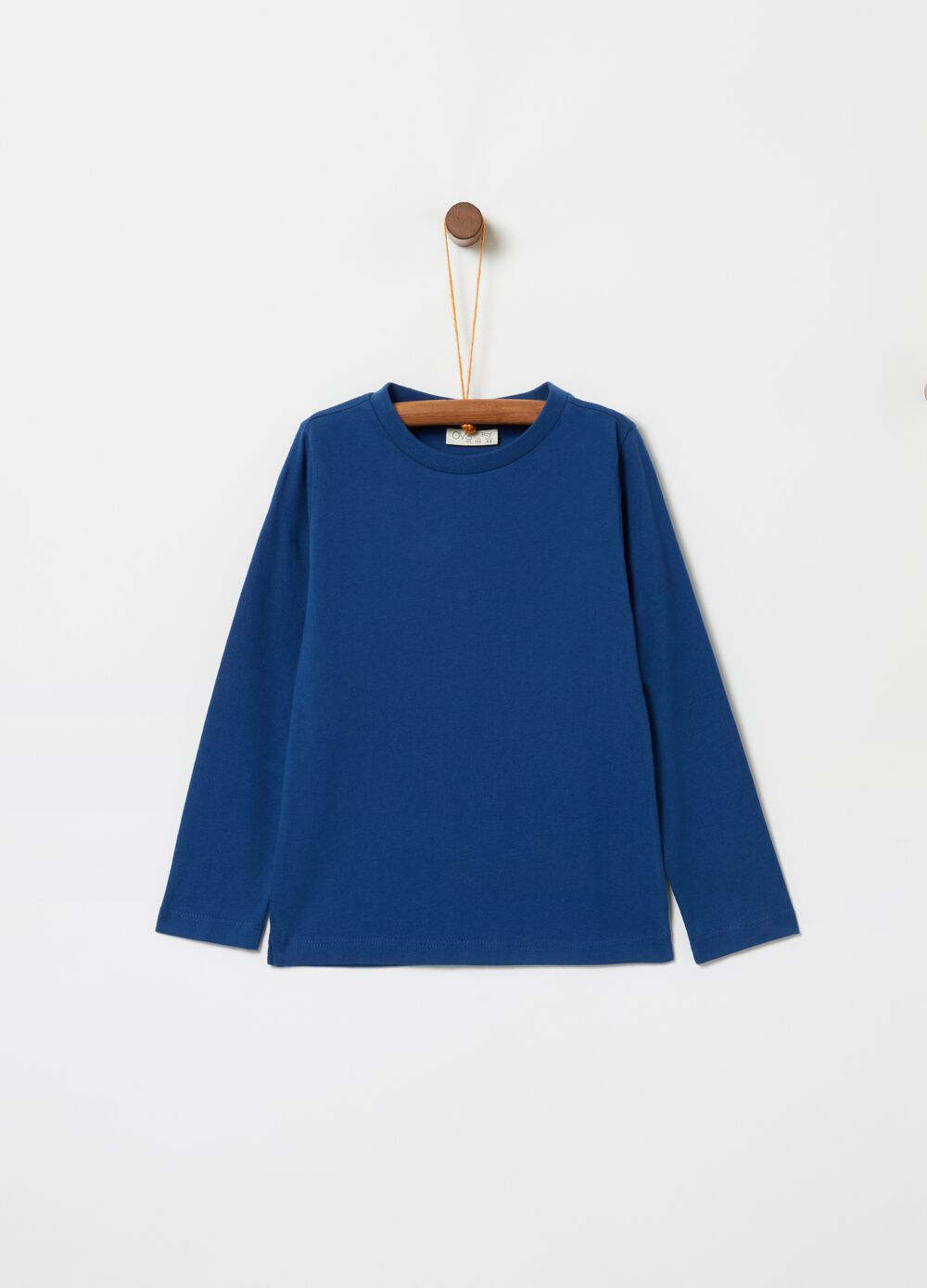 100% organic cotton T-shirt with long sleeves