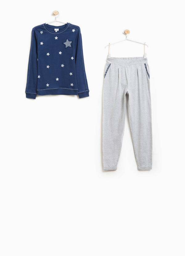 Better Cotton pyjamas with stars and tulle | OVS