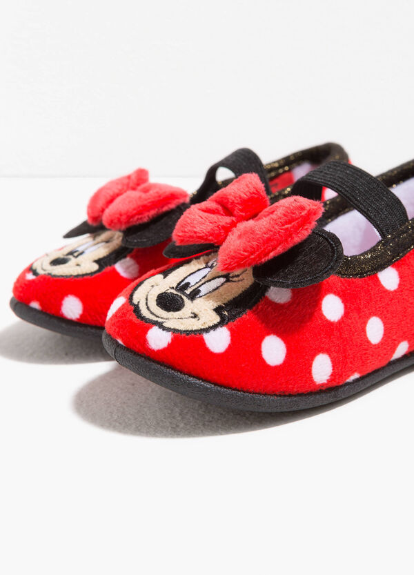 Polka dot Minnie mouse ballerina slippers | OVS