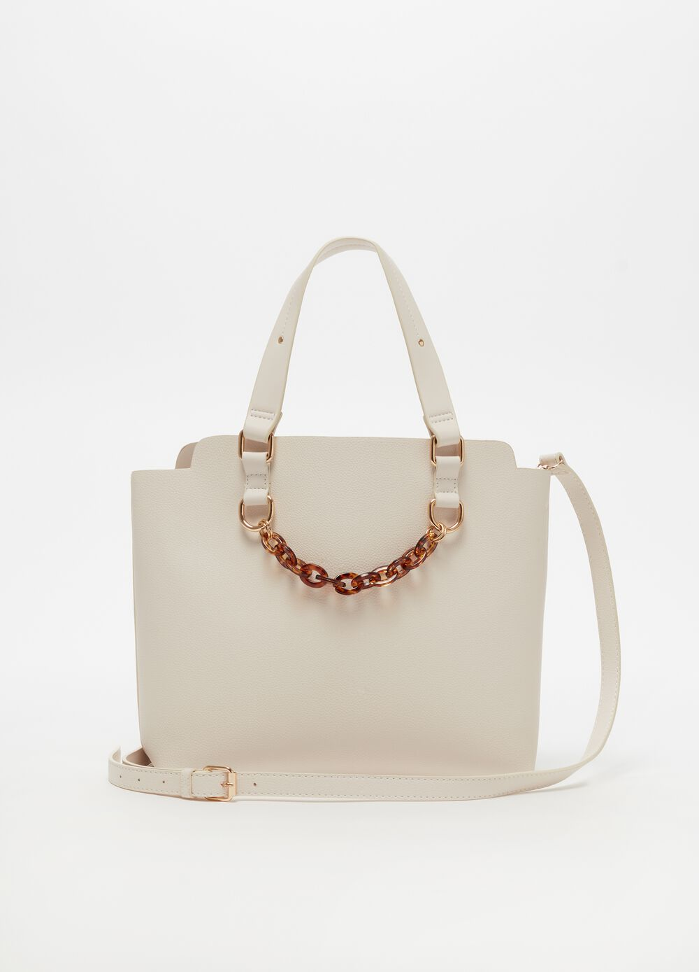 Tote bag with internal pouch