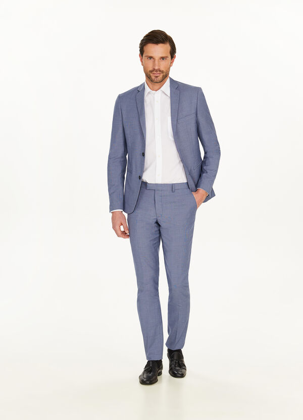 Solid colour custom-fit stretch outfit