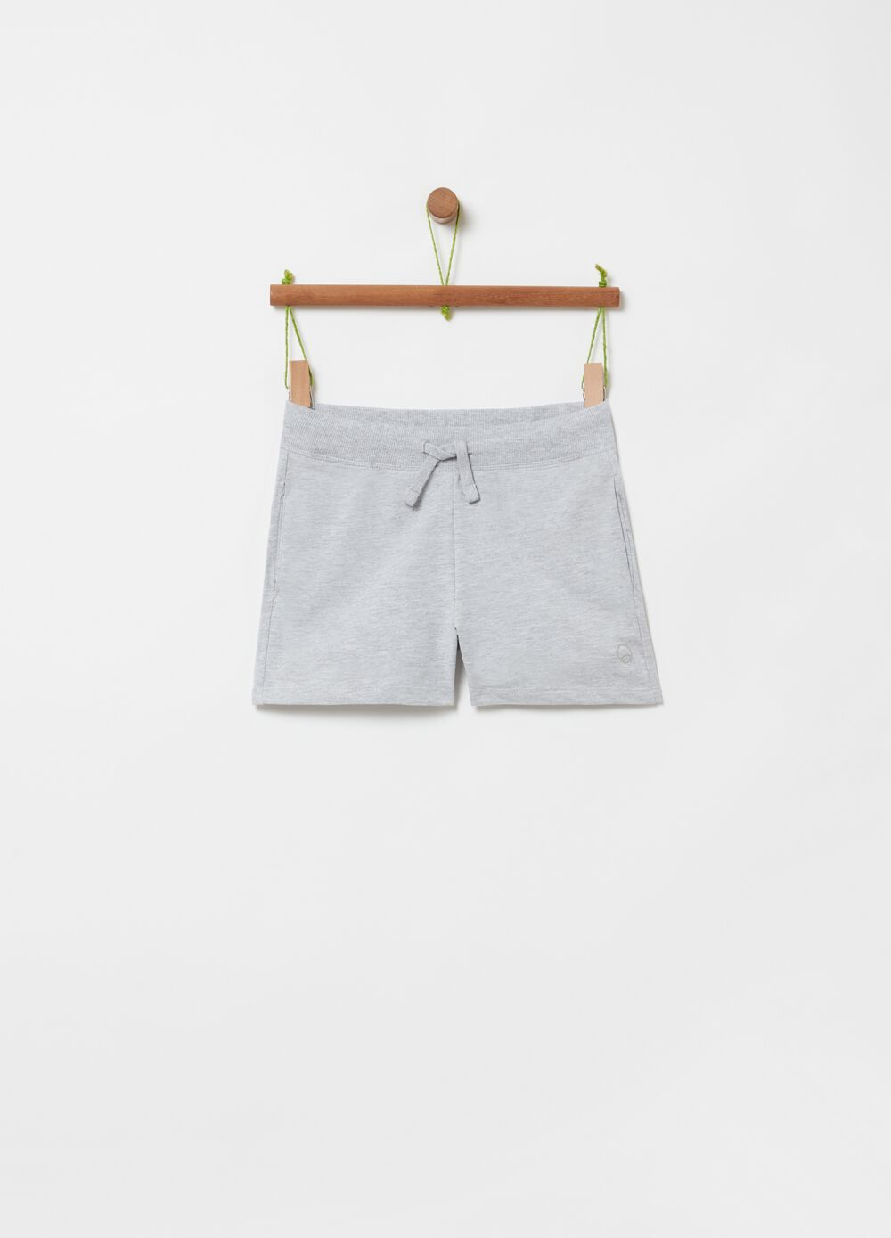 French Terry mélange shorts