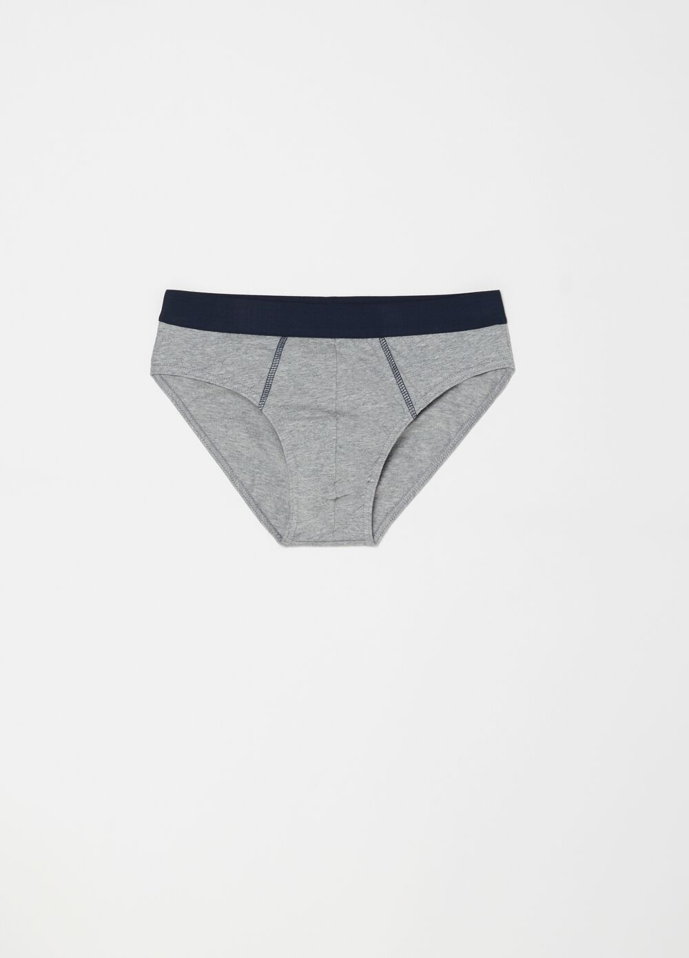 Five-pack briefs in 100% cotton