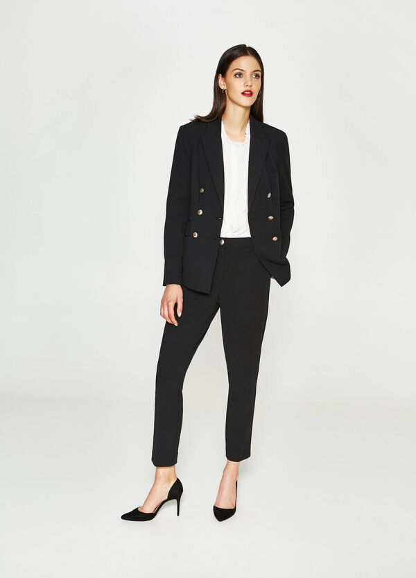 Double-breasted blazer with lapels | OVS