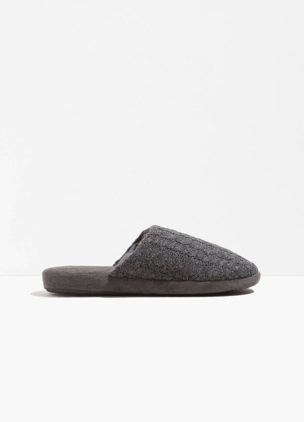 Slippers with woven upper | OVS