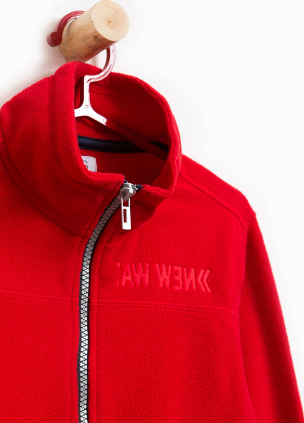 Sweatshirt with high neck and imprinted lettering | OVS