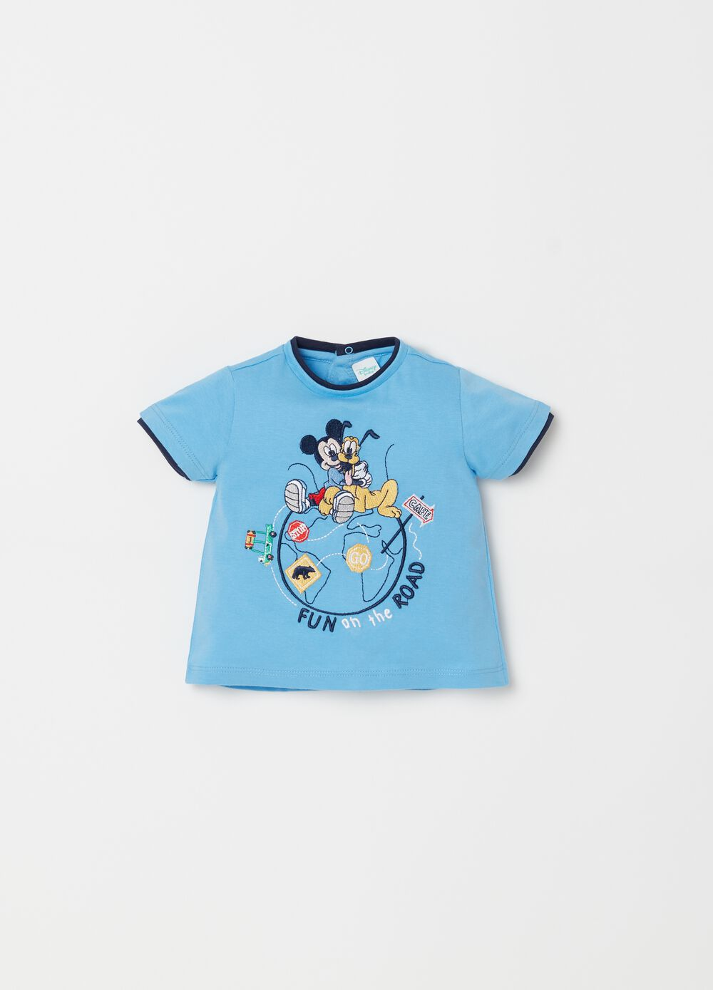 Disney Baby T-shirt with applications and embroidery