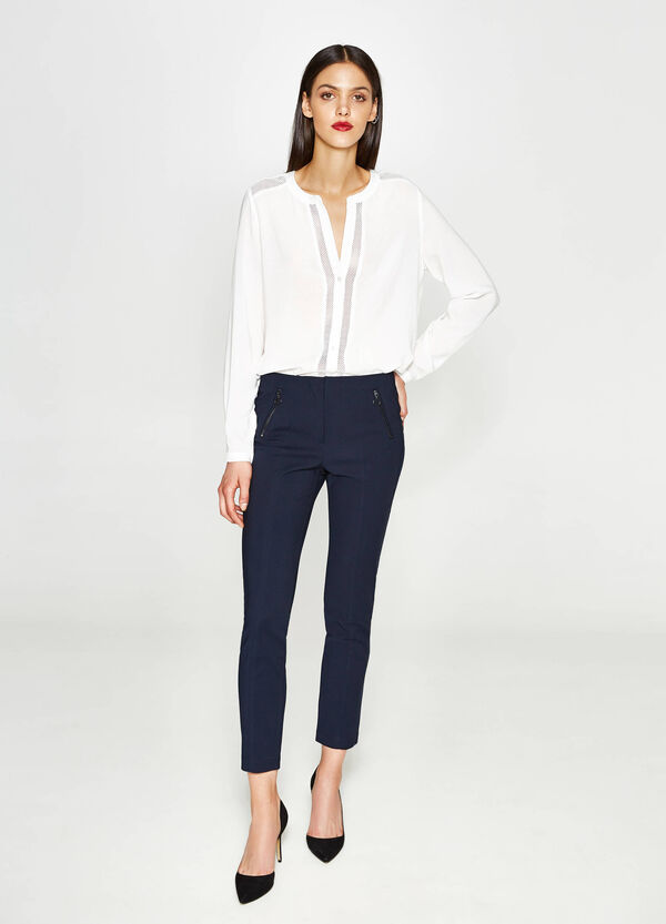 Stretch cotton trousers   OVS