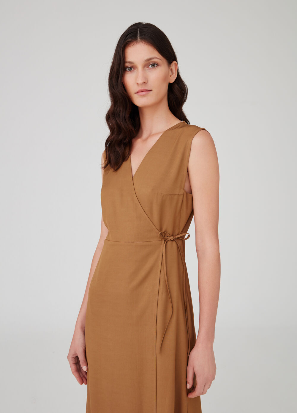 OVS Premium solid colour sleeveless dress