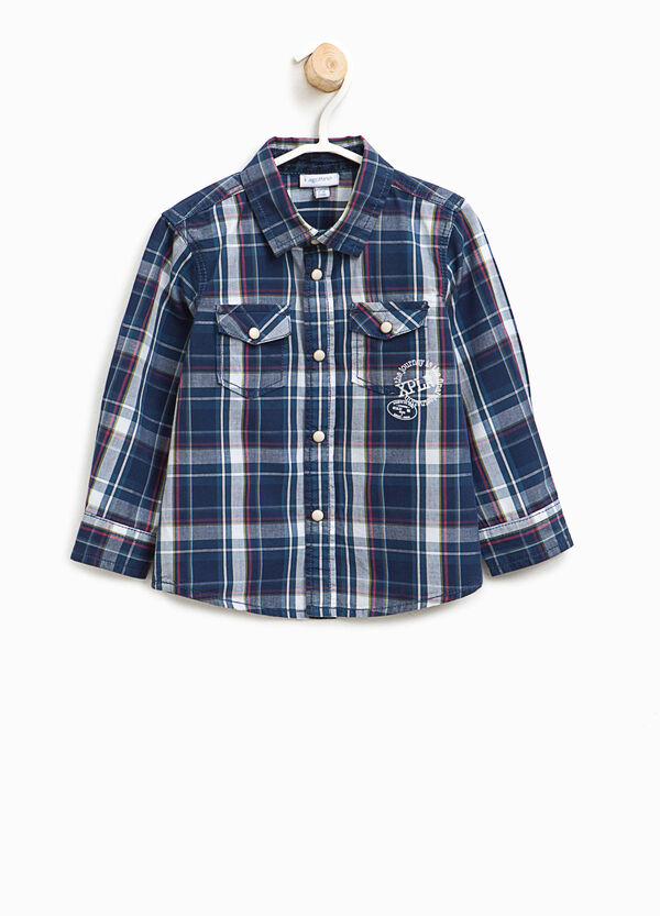Tartan shirt with pockets | OVS