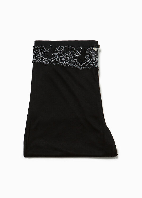 Pyjama trousers with lace and pendant | OVS