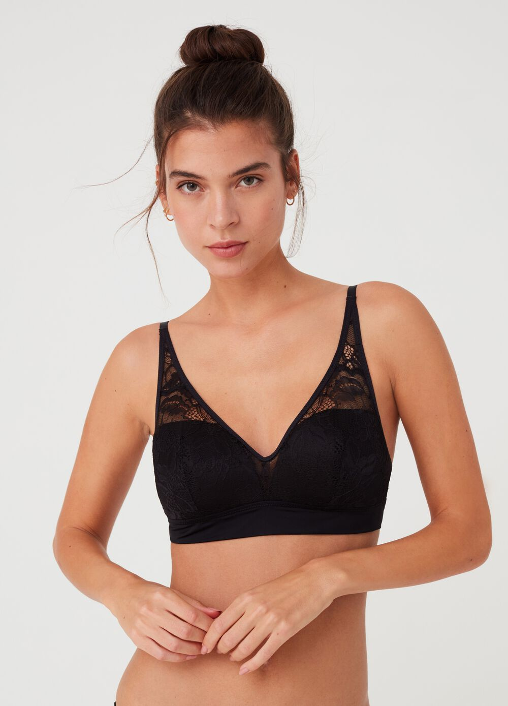 Alicia bralette - Natural effect