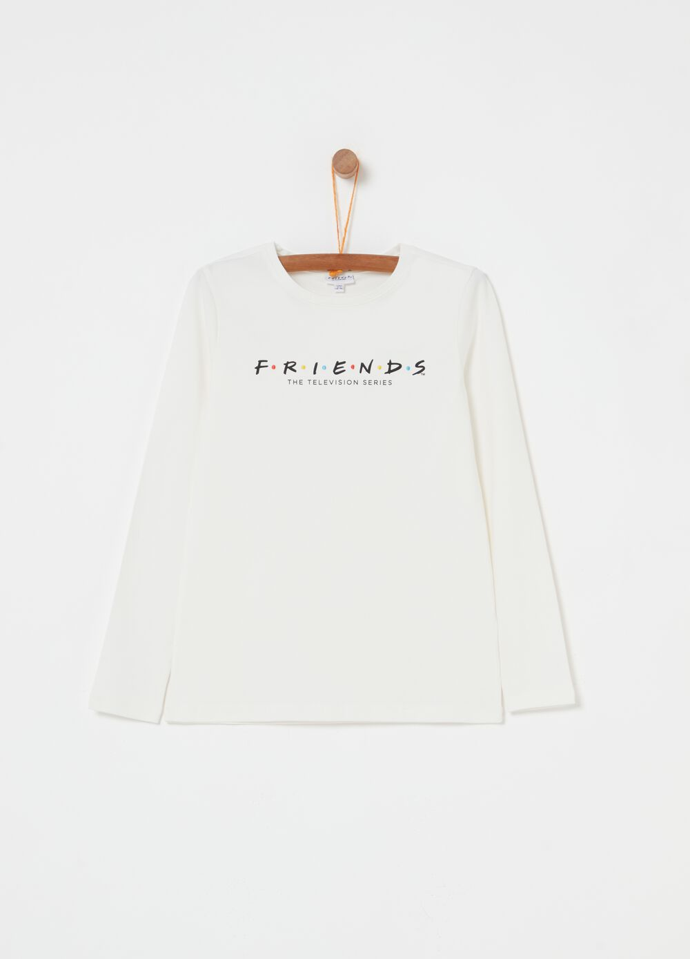 Organic cotton T-shirt with Friends print