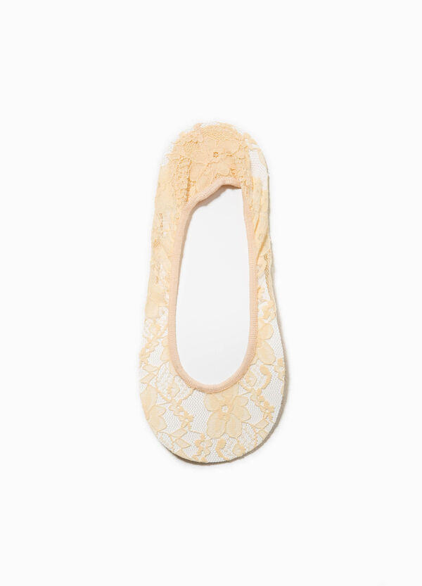 Shoe liner in stretch lace | OVS