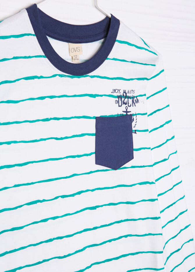 Striped pyjamas in 100% cotton