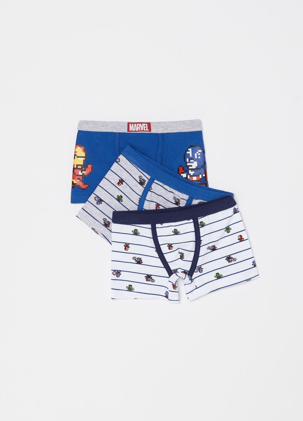 Three-pack Avengers boxer shorts