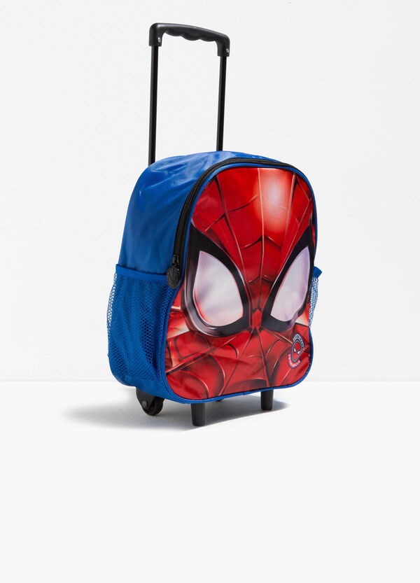 Zaino trolley maxi stampa Spiderman