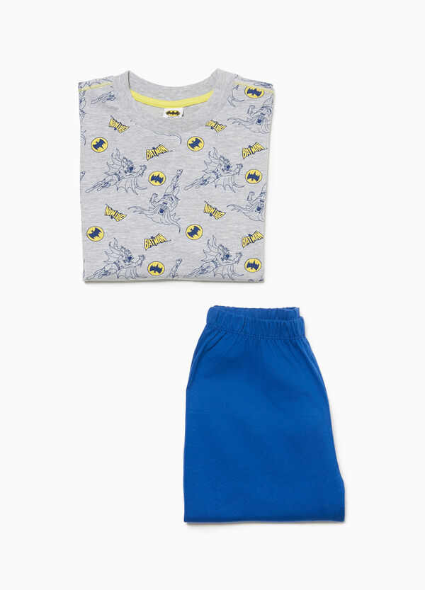 100% cotton pyjamas with Batman pattern