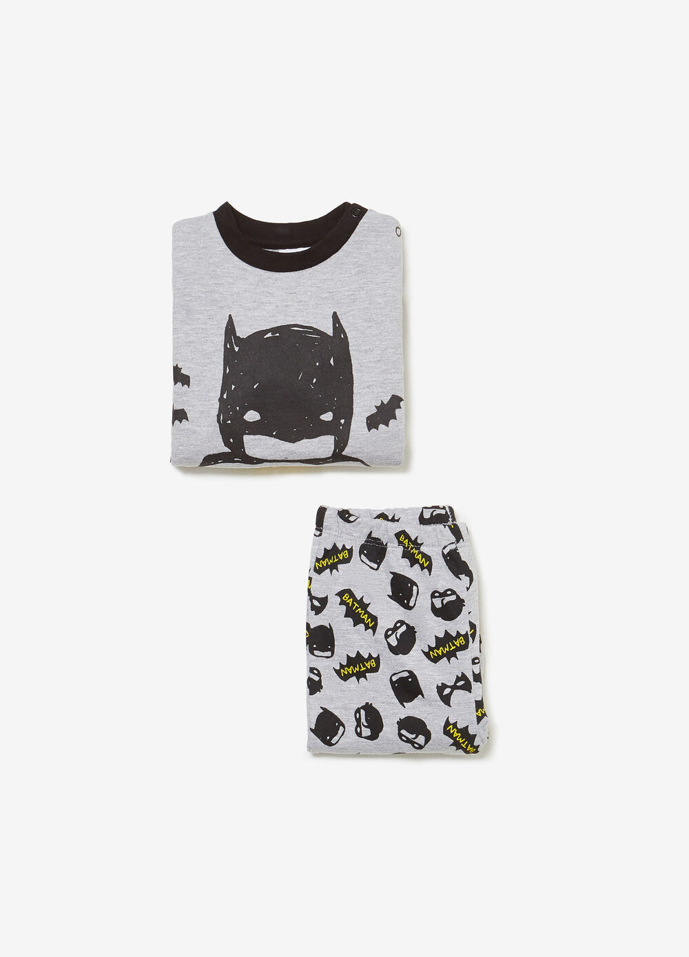 100% cotton pyjamas with Batman print