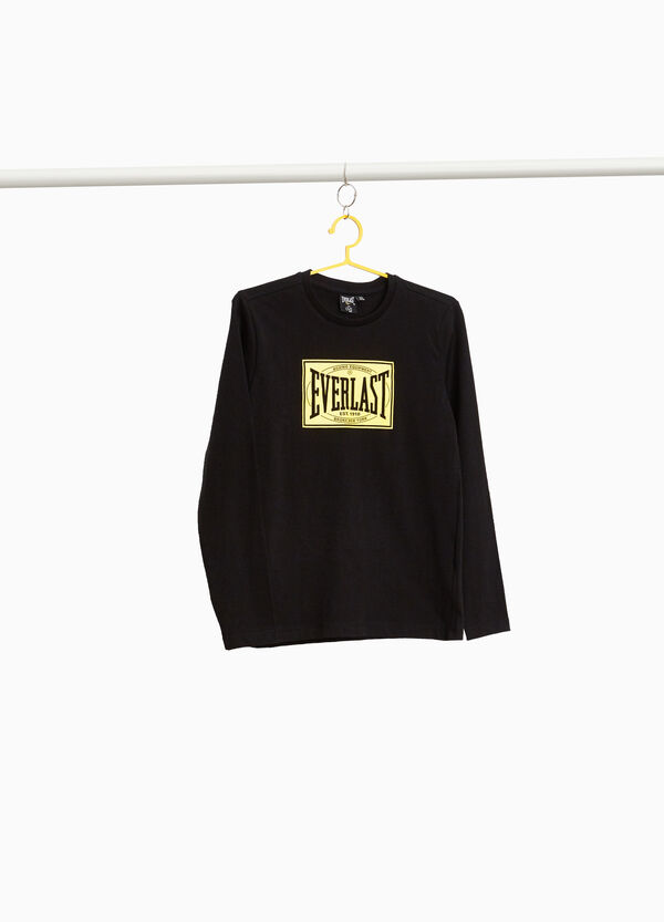 100% cotton T-shirt with Everlast print