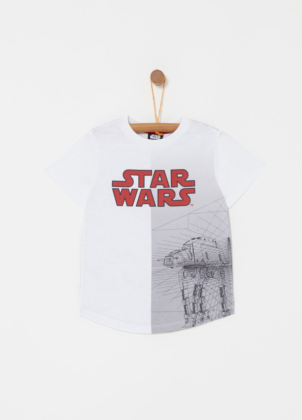 100% cotton T-shirt with Star Wars print
