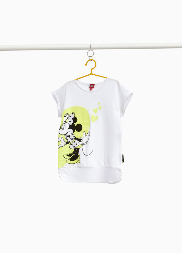 Minnie Mouse T-shirt in stretch cotton