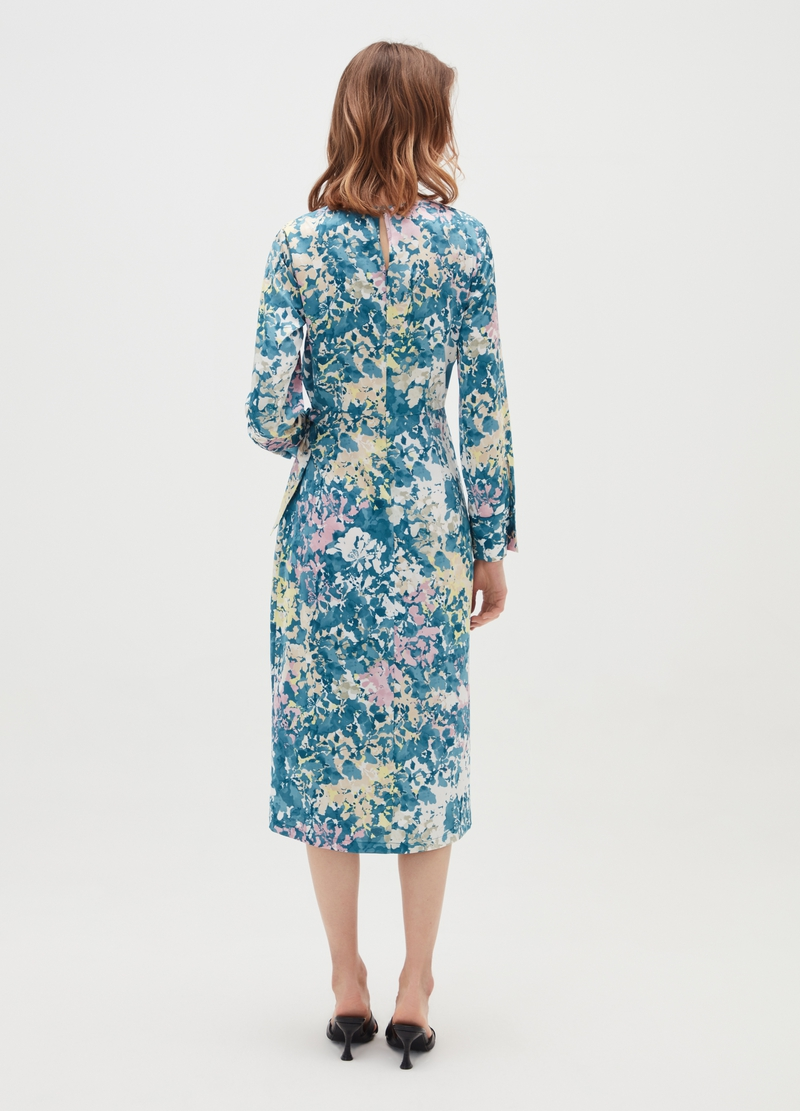 Floral dress with knot image number null