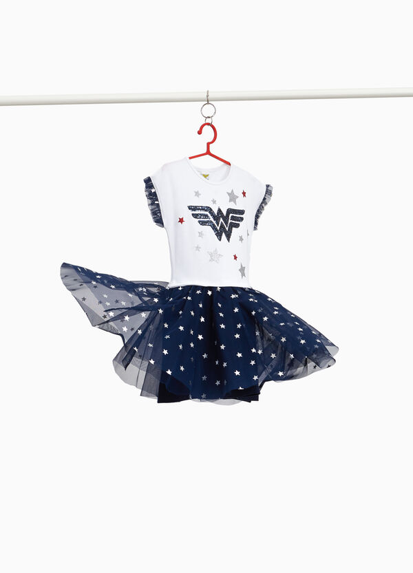 Wonder Woman dress with tulle