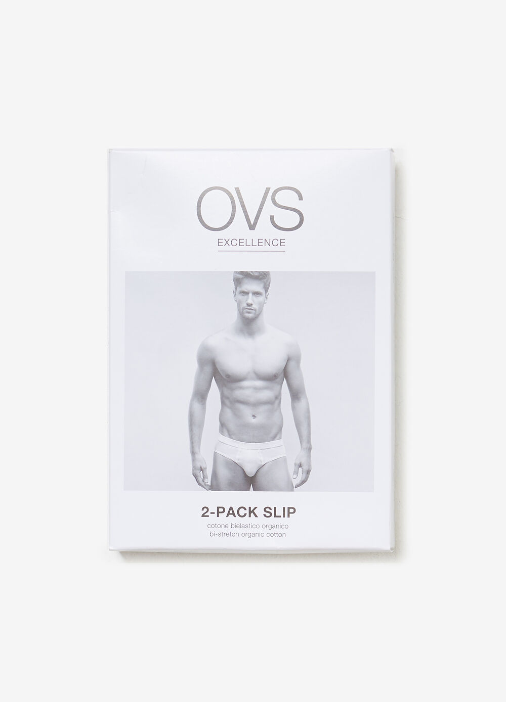 Two-pack briefs in two-way stretch organic cotton