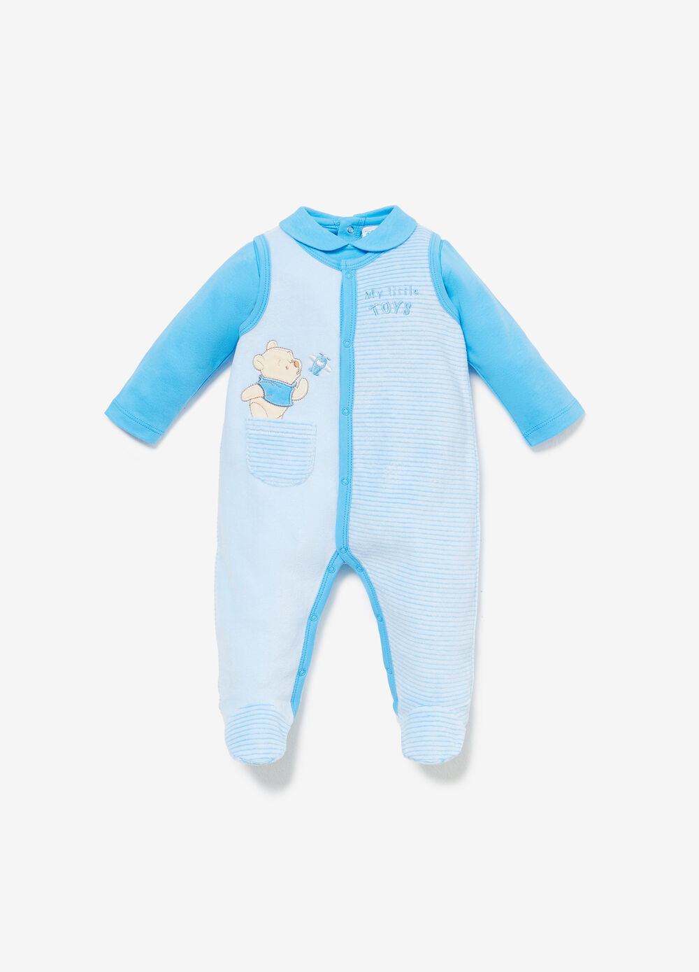 Winnie the Pooh striped outfit