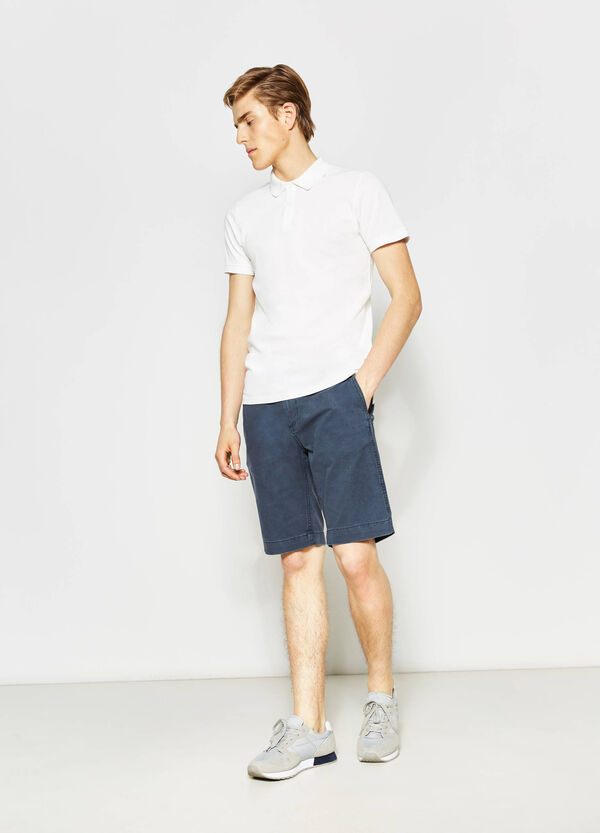 Bermuda regular fit in cotone G&H | OVS