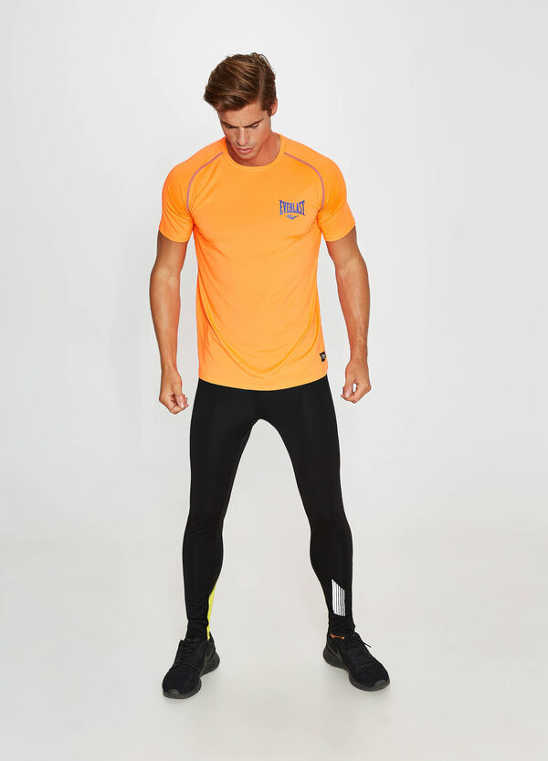 Stretch T-shirt with Everlast print | OVS