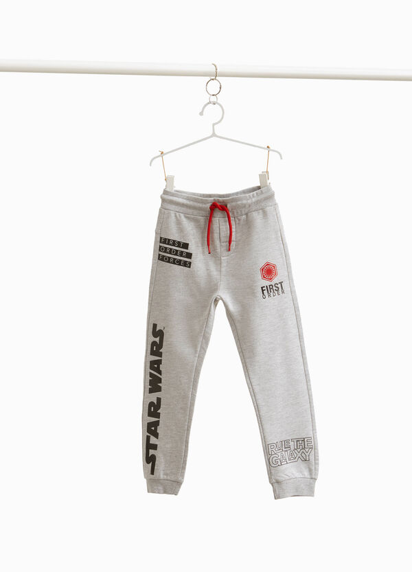 Joggers with Star Wars print