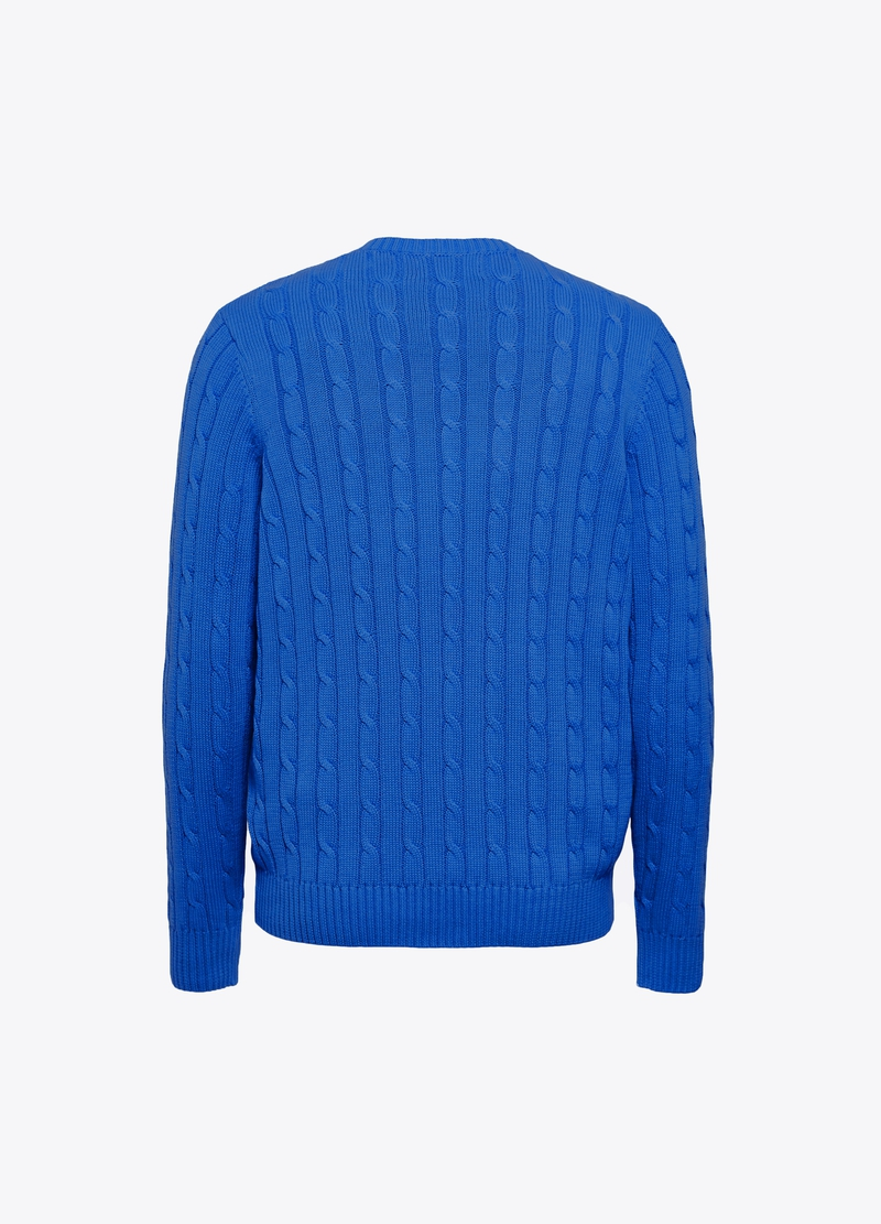 PIOMBO woven pullover in 100% cotton image number null