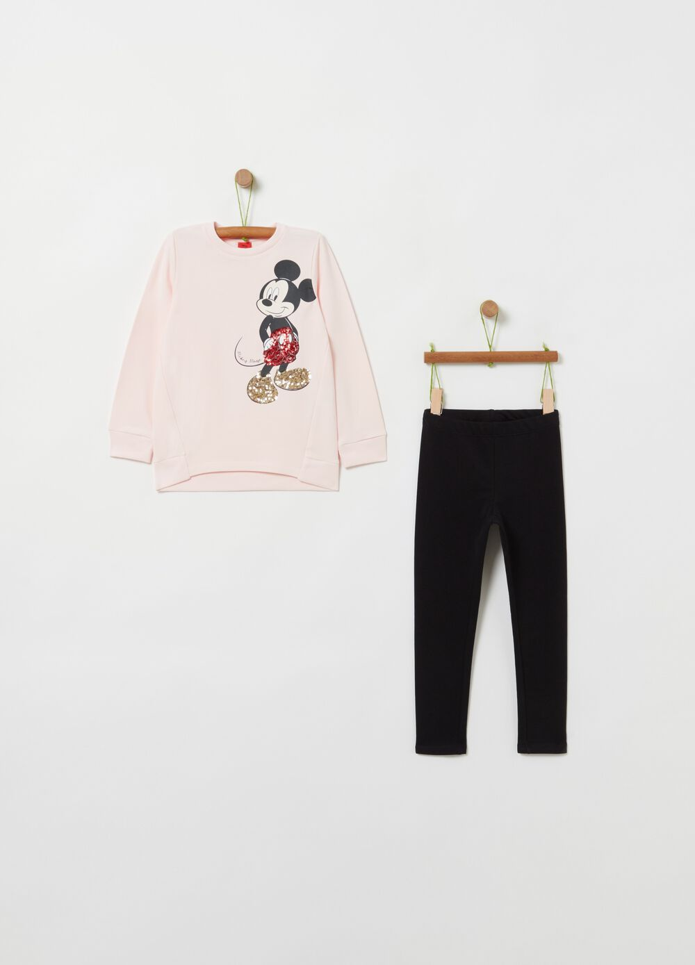 Jogging set with Mickey Mouse print